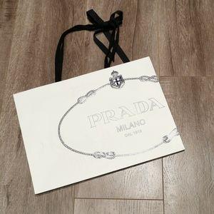 Prada Paper Shopping Bag